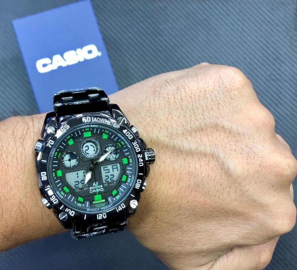 Relojes Casio Edifice Negro