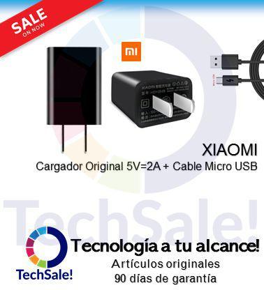 Xiaomi Charger Carga rapida 5V 2.4A Cable Tipo Micro USB