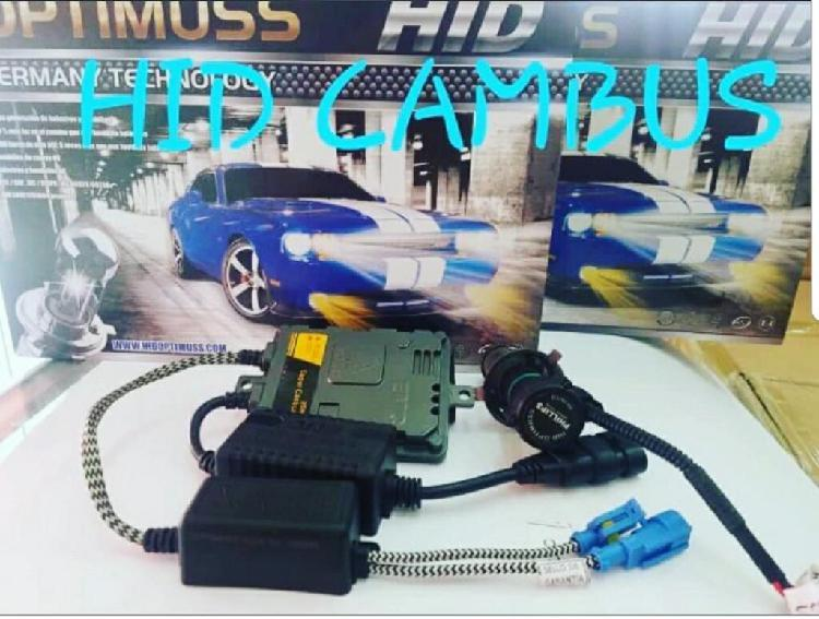 Kit Luces Hid con Sistema Canbus