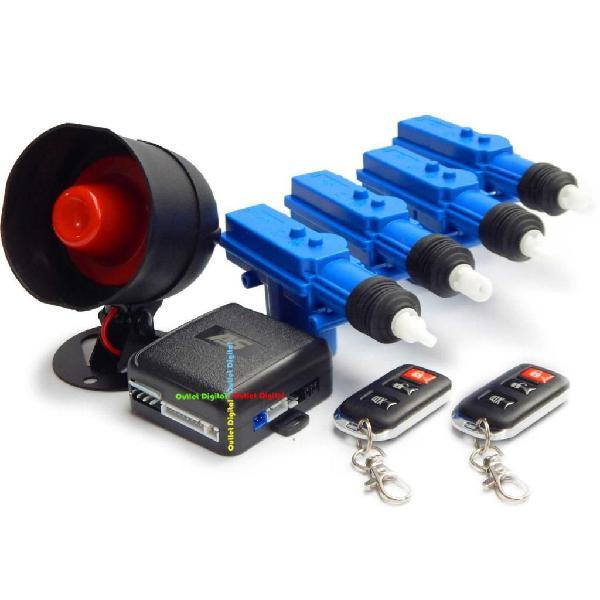 Kit de seguridad para tu carro Alarma 4 Bloqueos GRATIS