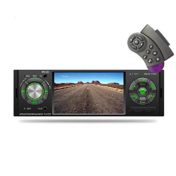 Radio Carro P5120 4.1 Mp5 Pantalla Bluetooth Mando Volante 1