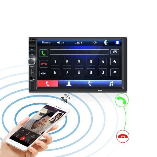 Radio Para Carro Pantalla 7 Bluetooth Equipo De Sonido Mp5