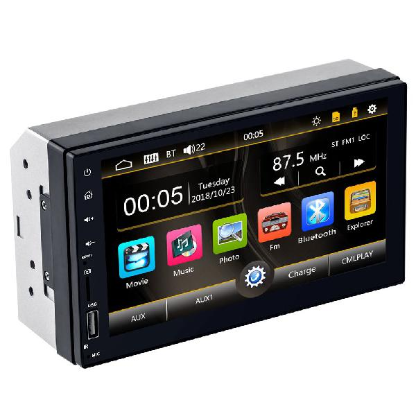 Radio para Carro Mp5 Bluetooth Usb Sd mirror linkAux
