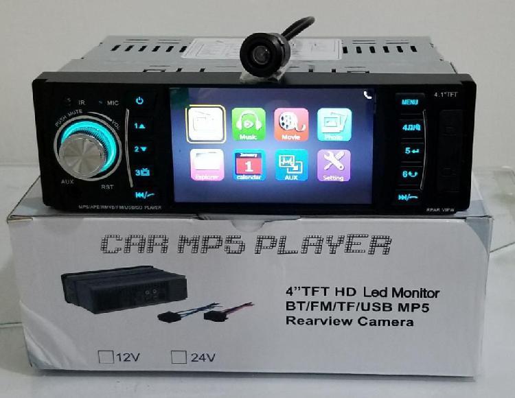 Radio para Carro con Pantalla Y Camara R