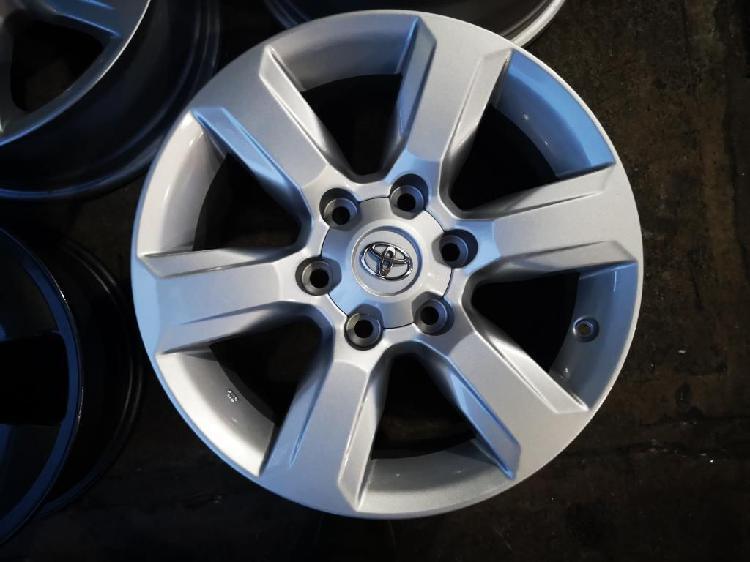 Rines 17 Toyota 6 Huecos