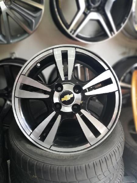 Rines de Chevrolet 15 4 Huecos 100