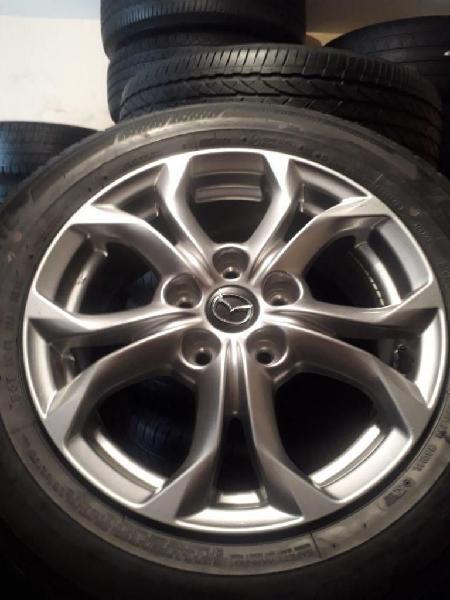 Rines y llantas 16 ultima Mazda Cx 3