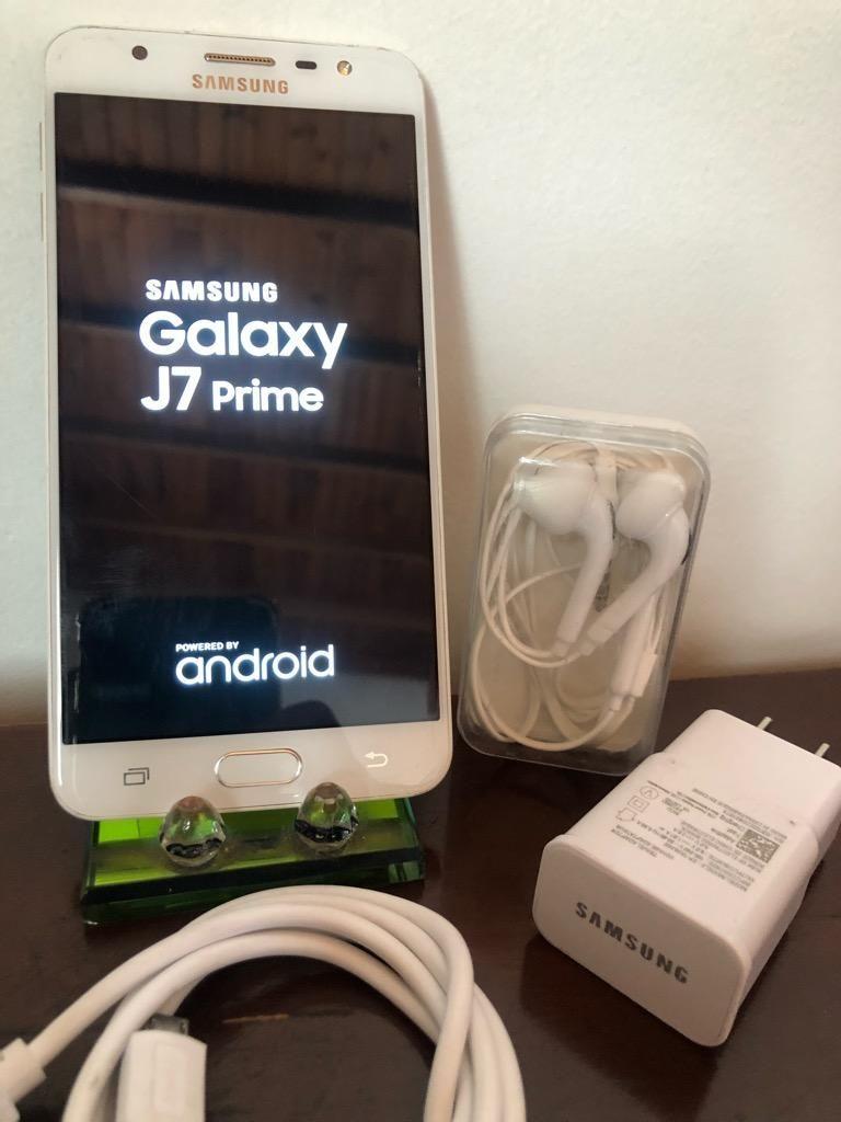 Samsung J7 Prime Como Nuevo Dorado