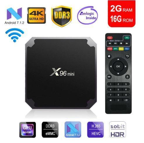 tv box android 7,1 smart tv WiFi 4 K 2 GB 16 GB Convierte tu