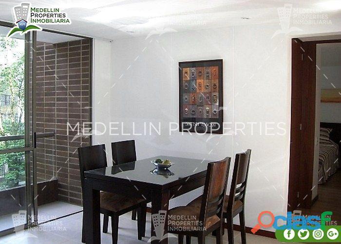 Apartamentos Amoblados en Alquiler en Envigado Cód: 4037