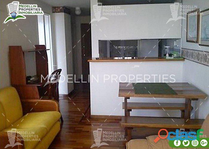 Apartamentos Amoblados en Alquiler en Medellín Cód: 4015