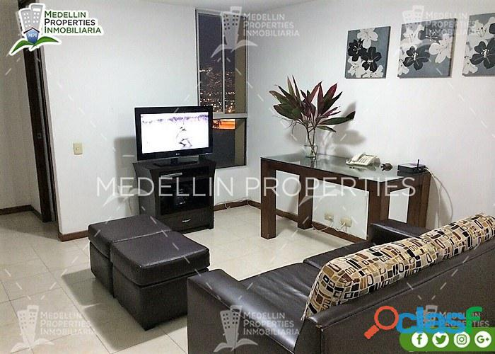 Apartamentos Amoblados en Alquiler en Medellín Cód: 4046