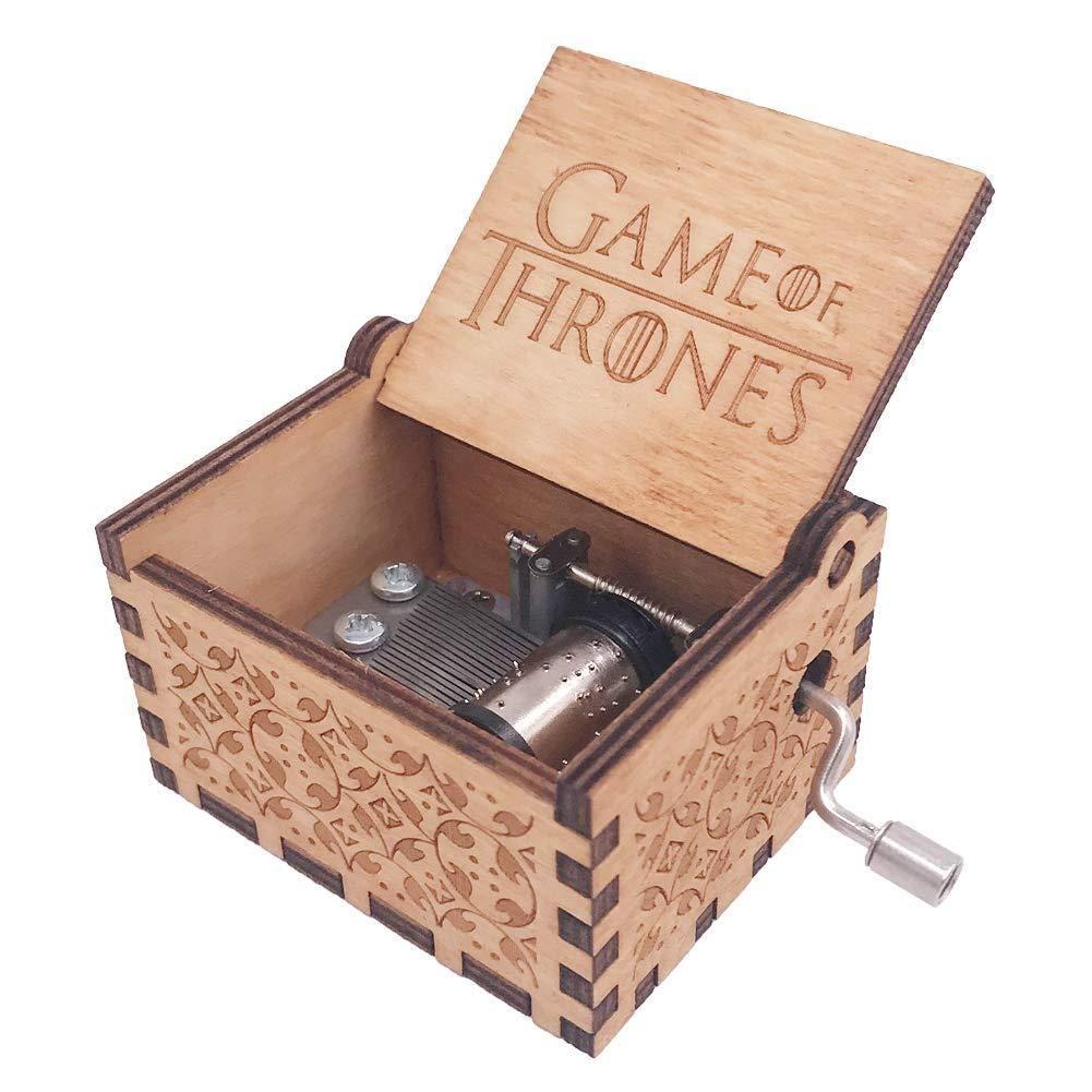 Caja Musical - Game Of Thrones Juego De Tronos Madera Regalo