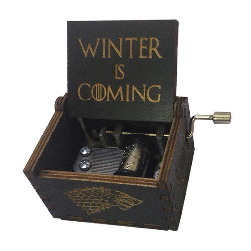 Caja Musical Game Of Thrones Juego De Tronos Negra