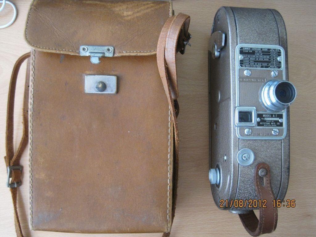 Camara Antigua Filmadora Keystone A7 16mm Usa Retro Vintage