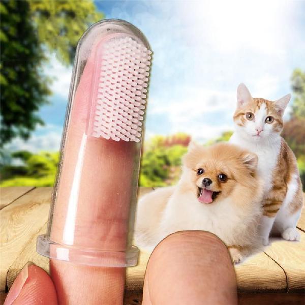Cepillo De Dientes Para Mascotas Perros Gatos Higiene Dental