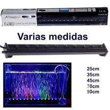 Lámparas para acuario de luz LED multicolor sumergible con