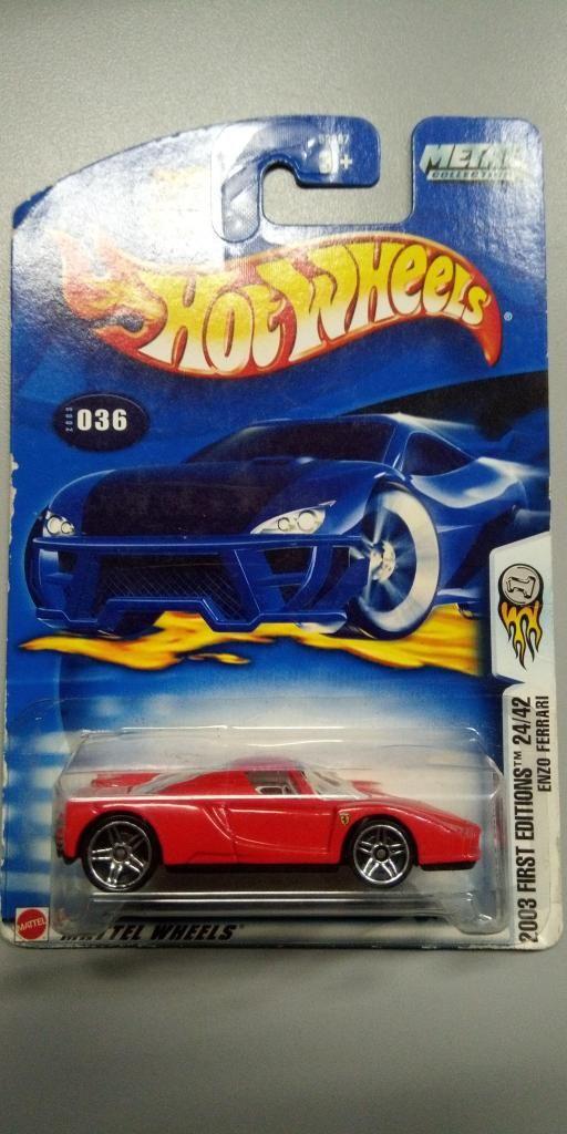 Venta de hot wheels Enzo Ferrari escala 164 estado del