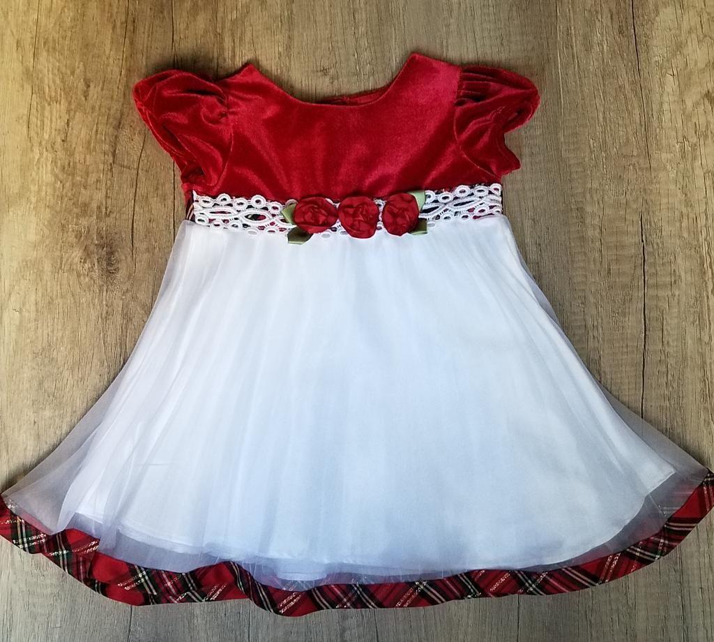 Vestido Elegante Para Niña Talla 12 Meses Ropa de Marca