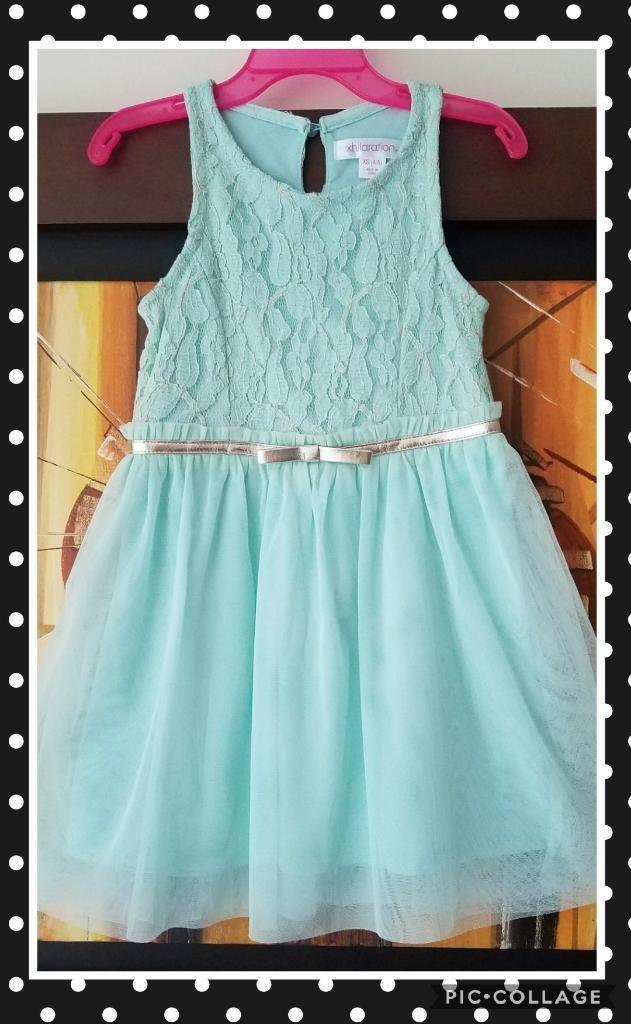 Vestido Elegante Para Niña Talla 4t Ropa Americana