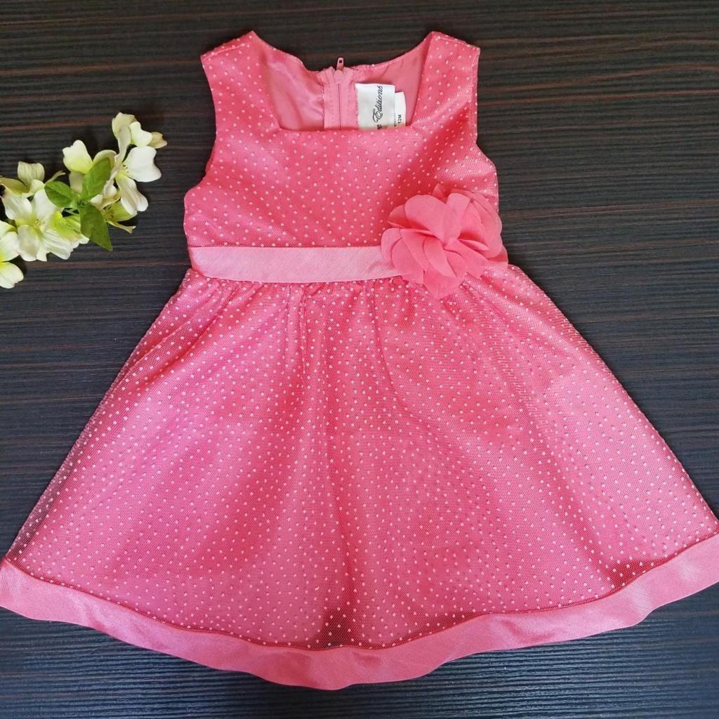 Vestido Elegante para Niña Talla 12 Meses Importado