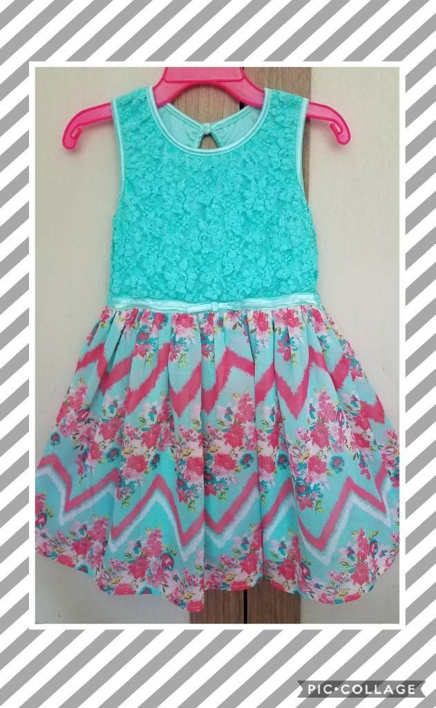 Vestido Para Niña Talla 4T Marca America