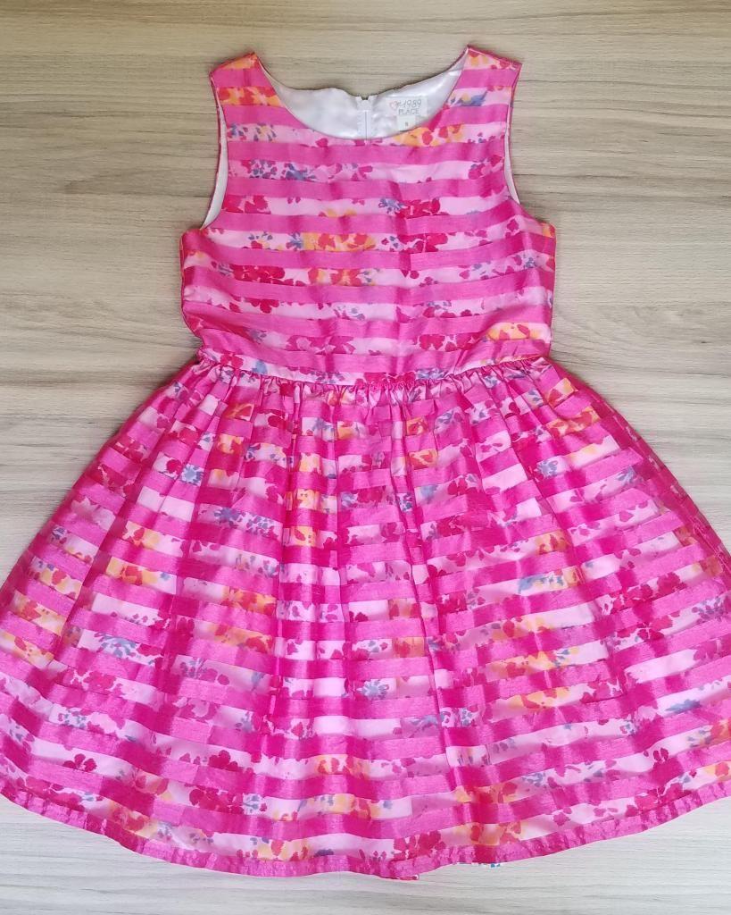 Vestido Para Niña Talla 8 Marca Americana Muy Lindo