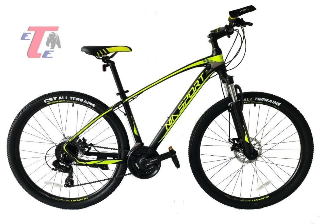 Bicicleta 24vel Rin 27,5 Aluminio shimano Italiana Nia Sport