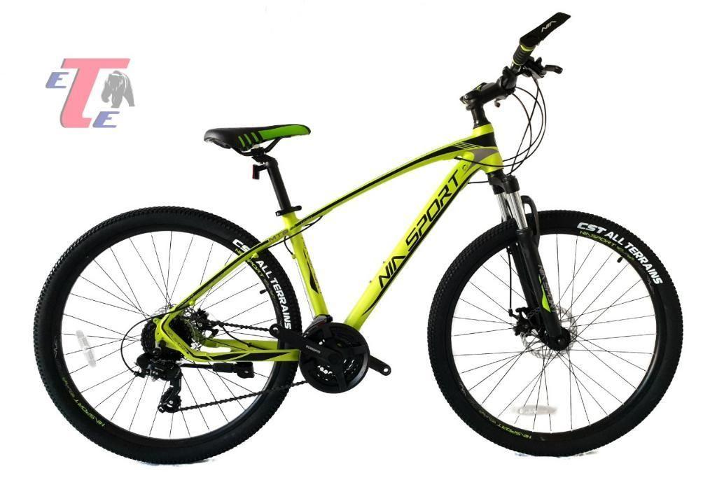 Bicicleta Mtb 24vel Rin29 Alum Shimano Italiana Nia Sport