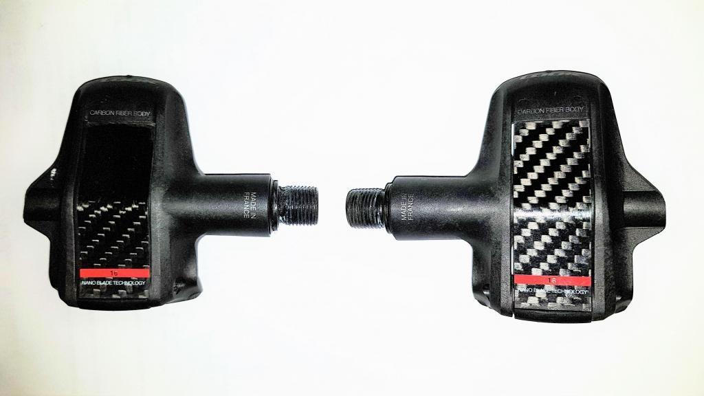 Pedales para chocles Look Keo Blade en fibra de carbono