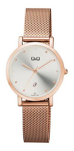 Reloj Q&q A419j011y Oro Rosa Mujer Envio Gratis