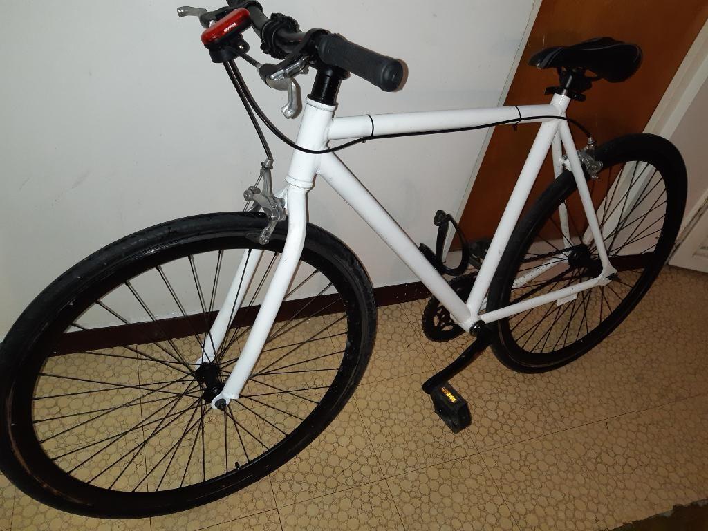 Vendo Bici Fixie en Aluminio