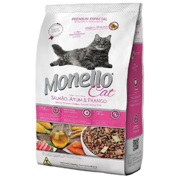 Comida para Gato Monello Salmón 15 Kg