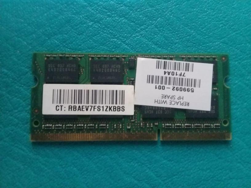 Memoria ram de 4gb ddr3 para portatil