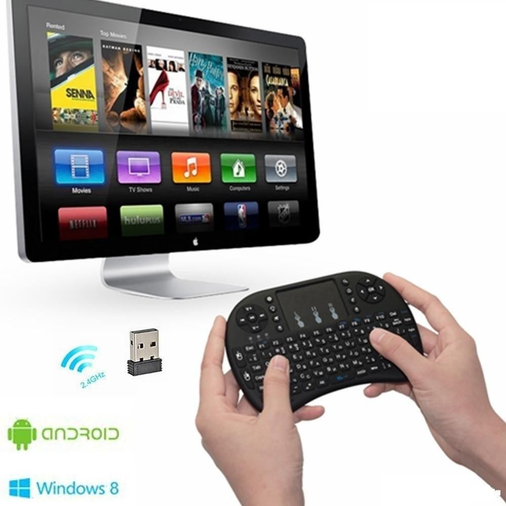 Mini Teclado Keyboard Touchpad Inalambrico Tv Box Pc