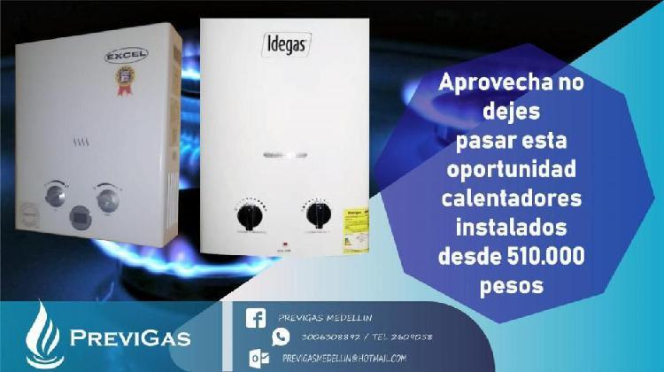 Super Oferta Calentador de Agua a Gas y Redes de Gas