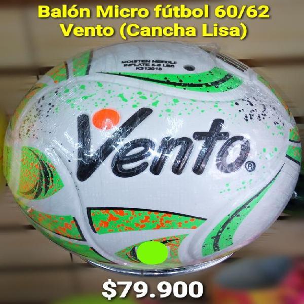 BALÓN MICRO FUTBOL 60 62 VENTO PRO