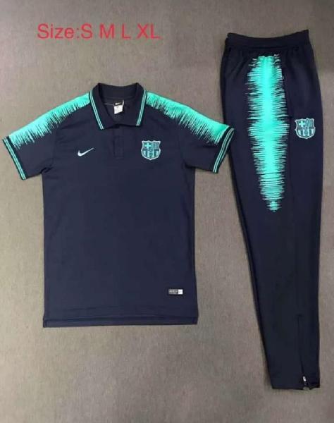 Camiseta Y Pantalon Barcelona para Hombr