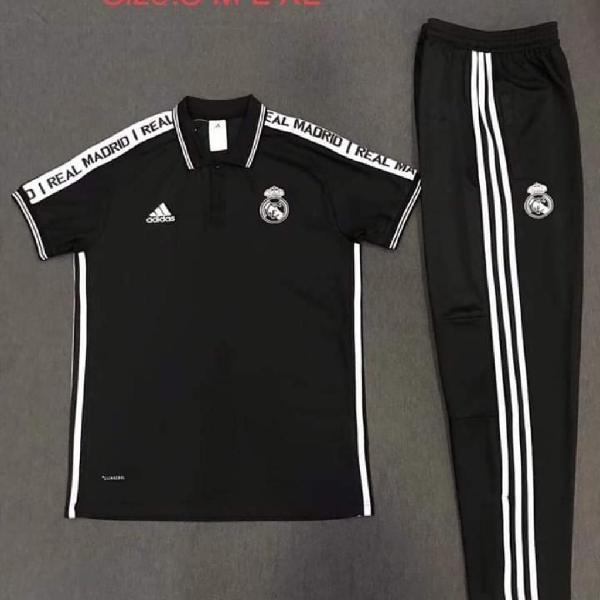 Camiseta Y Pantalon Rela Madrid Hombre