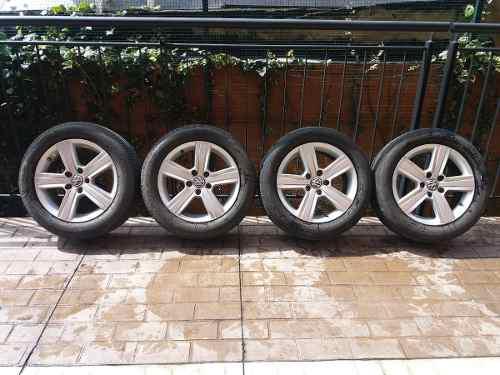 Rines Y Llantas Volkswagen Golf Audi Skoda Bridgestone Rin16