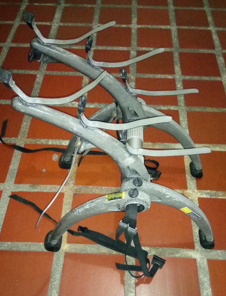 Saris Bones para 3 Bicicletas