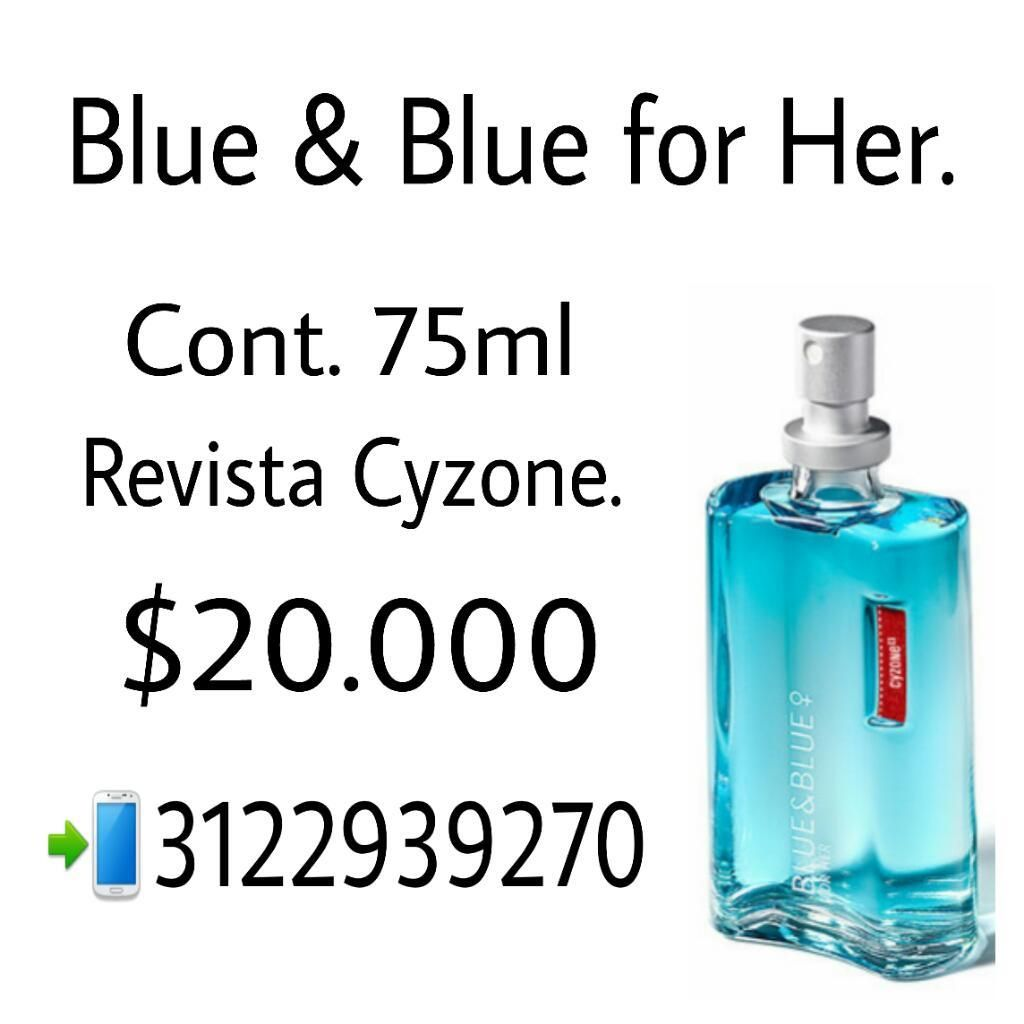 Blue & Blue For Her