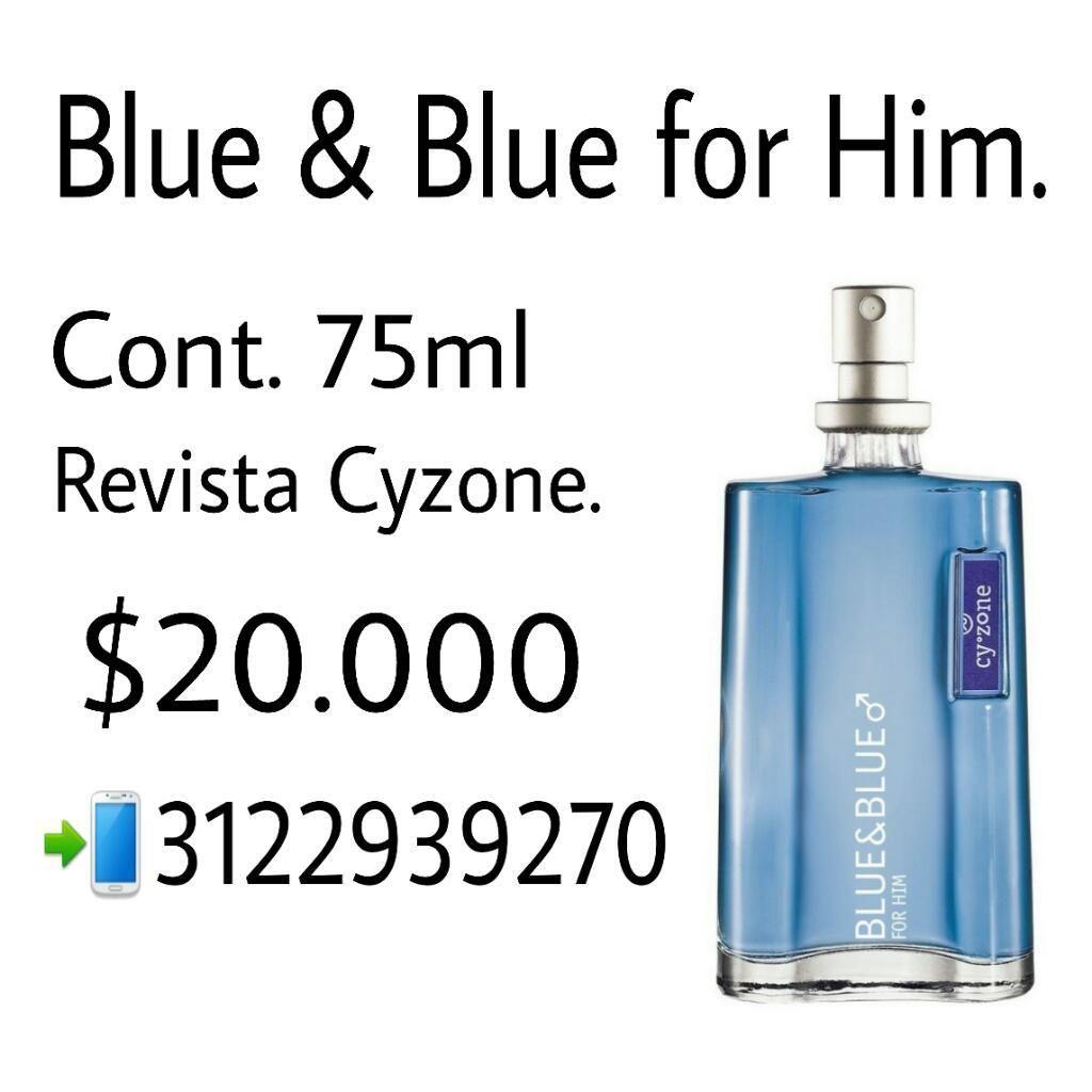 Blue & Blue For Him
