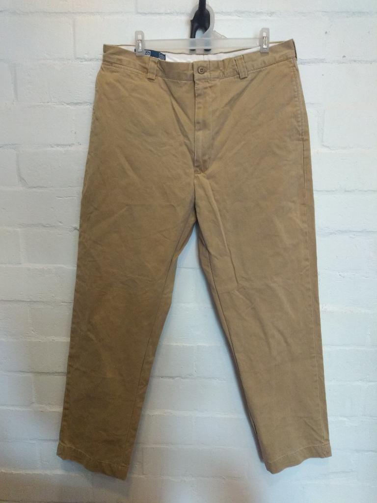 Pantalón Dril Polo Ralph Lauren Talla 34