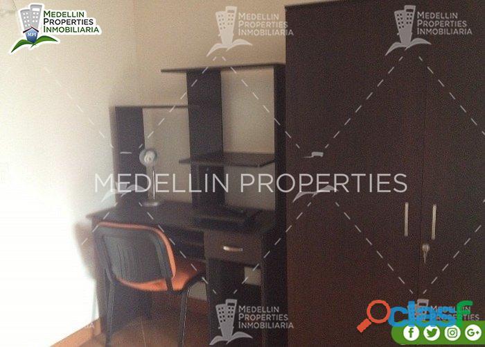 Apartamentos Amoblados en Alquiler en Medellín Cód: 4674