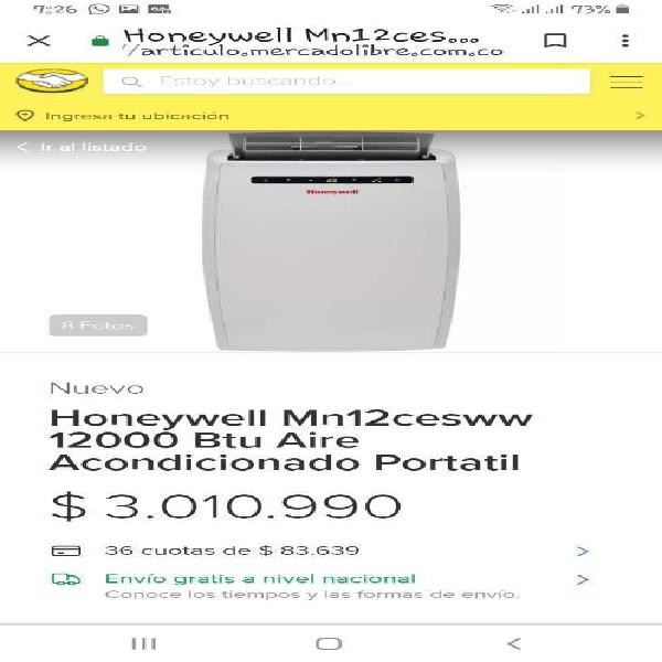 Honeywell Aire Acondicionado Portatil