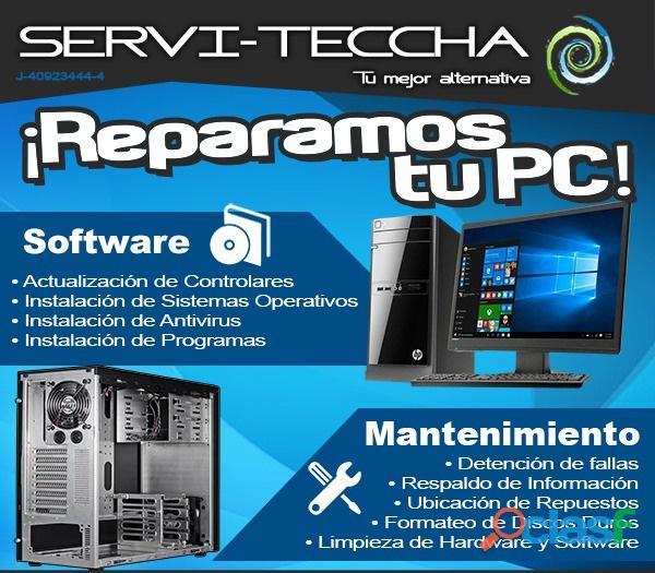 Reparación Y Mantenimiento De Computadores Todo el valle de
