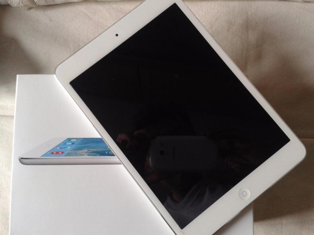 Ipad mini 2 de 16gb wifi libre de icloud perfecto estado