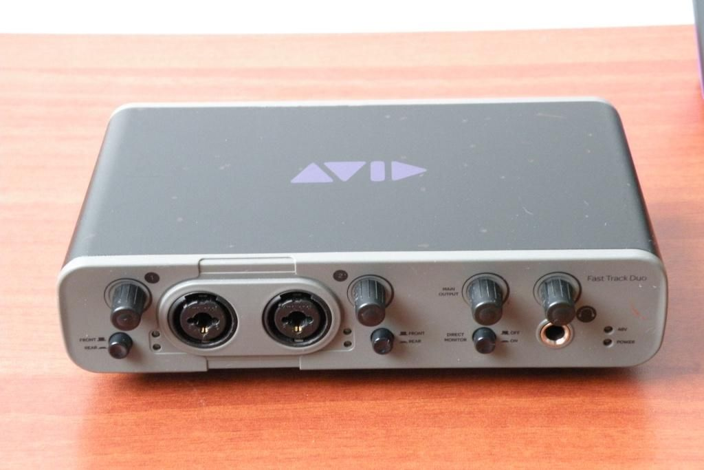 AVID Fast Track Duo interface de audio usb SUPERTECLADOS