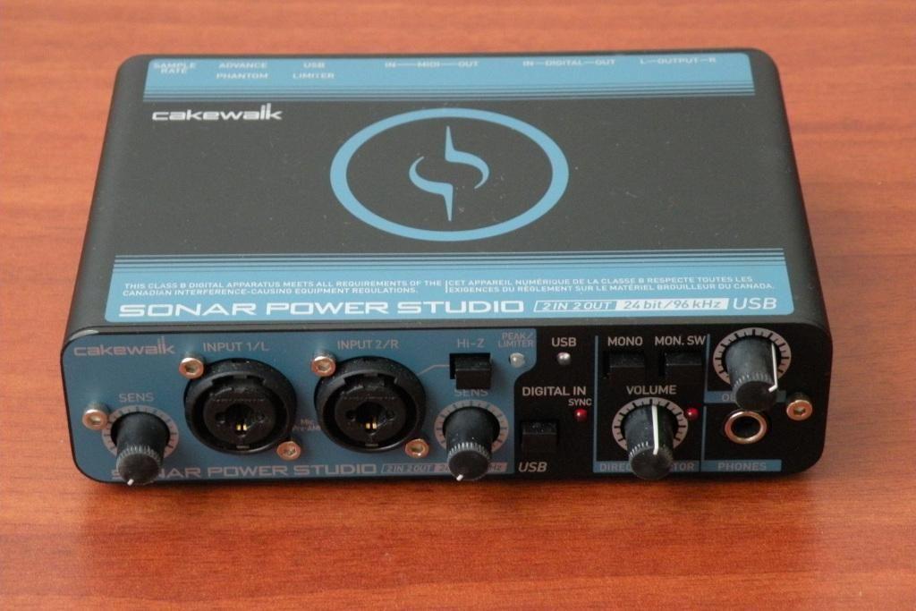 Cakewalk SPS25 interface de audio MIDI USB